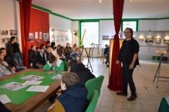 Vortrag vor einer Schülergruppe